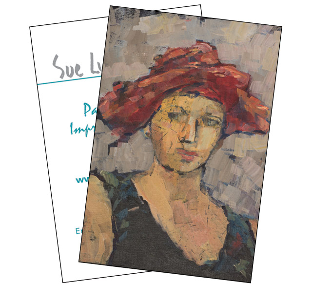 Woman in Hat - Sue Lydia Taylor