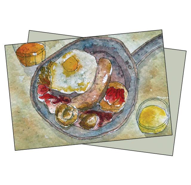 Budapest Breakfast - Ian Luck