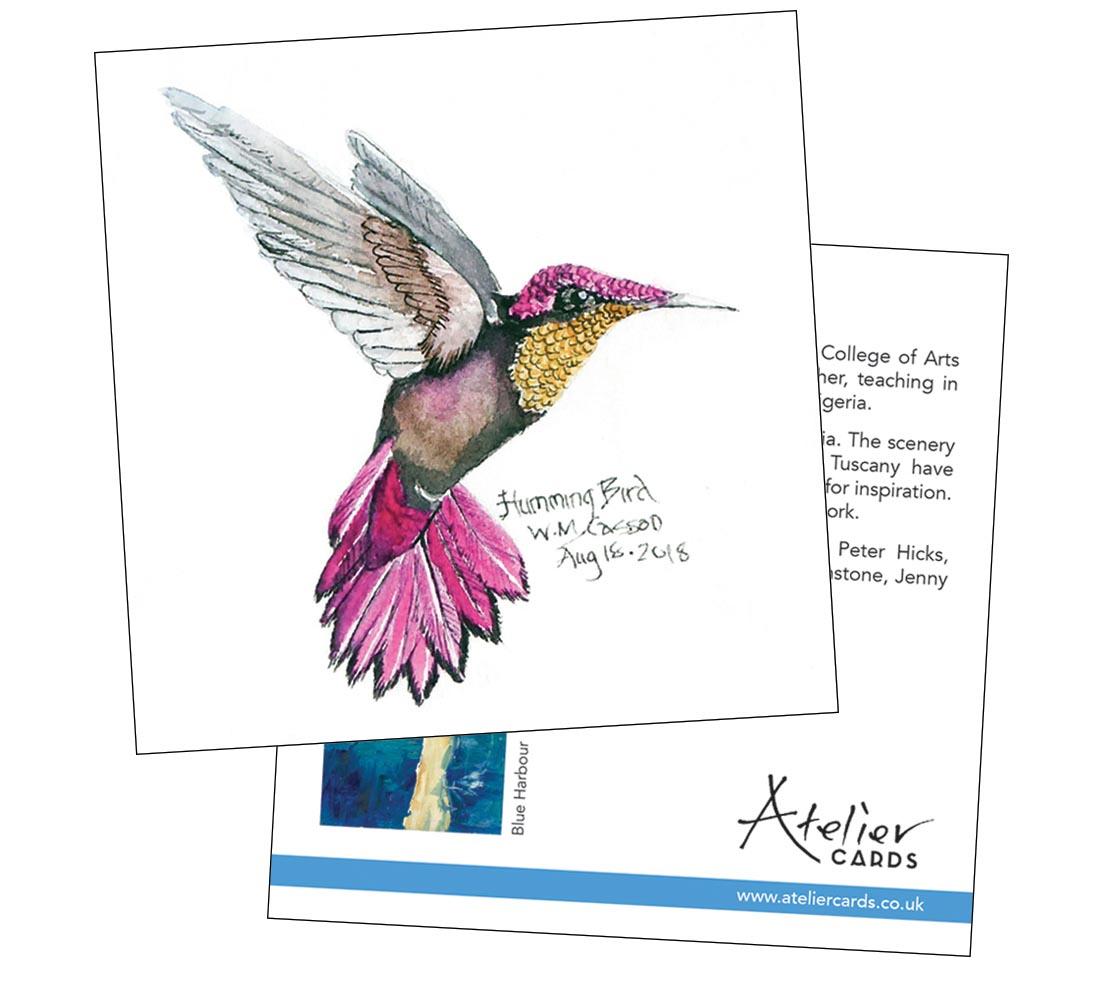 Humming Bird - Wendy Casson