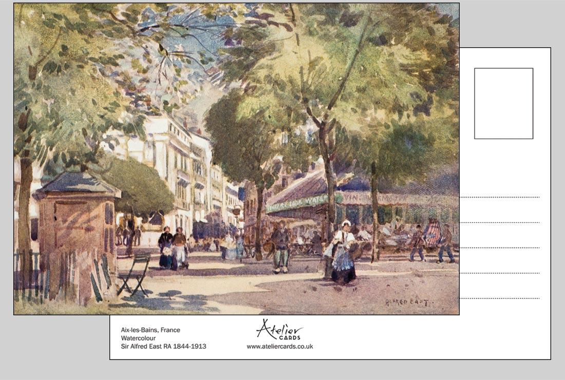 Aix-les-Bains, France - Sir Alfred East RA