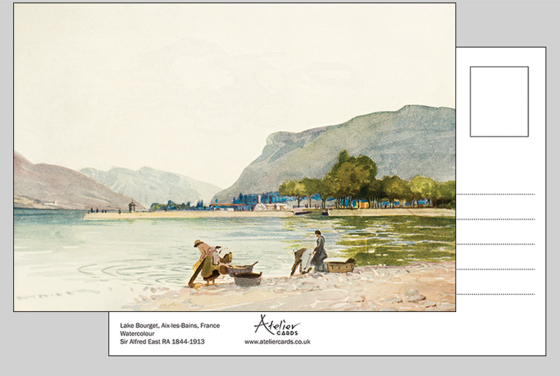 Lake Bourget - Sir Alfred East RA